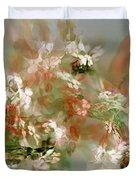Floral Fractal 030713 Duvet Cover