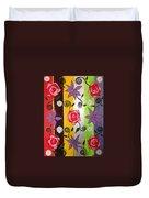 Floral Frenzy Duvet Cover