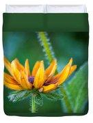 Floral Fuzz Duvet Cover