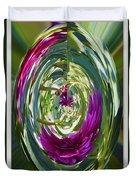 Floral Illusion 1 Duvet Cover