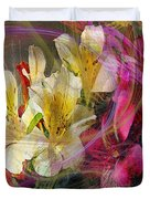 Floral Inspiration - Square Version Duvet Cover