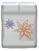 Floral Joy  Duvet Cover