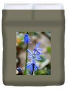 Floral Ladder  Duvet Cover