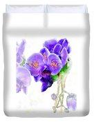Floral Series - Orchid Duvet Cover