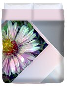 Floral Snap Shot Duvet Cover