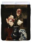 Floral Still Life Duvet Cover
