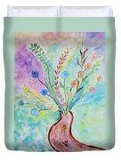 Floral Stream Duvet Cover