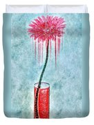 Floral - The Dancing Gerbera Duvet Cover