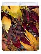 Floral Tiles Duvet Cover