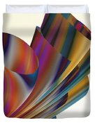 Floral Trumpets Duvet Cover