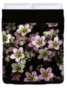 Floral Wallpaper Duvet Cover