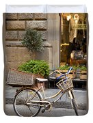 Florence Bicycle  Duvet Cover