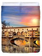 Florence Bridge Duvet Cover