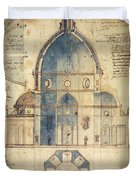 Florence: Brunelleschi Duvet Cover