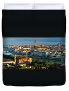 Florence Panorama Duvet Cover
