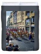 Florence Parade Duvet Cover