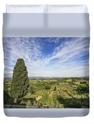 Florence Views Duvet Cover