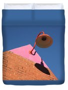 Shadow Of The Lantern Duvet Cover