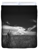 Florida Flat Land Duvet Cover