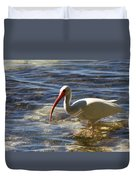 Florida Ibis Duvet Cover