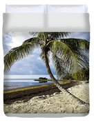 Florida Keys Beach Duvet Cover