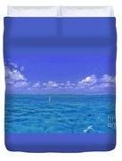 Florida Keys Marathon Intercoastal Waterway 3 Duvet Cover