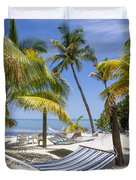 Florida Keys Wellness Duvet Cover