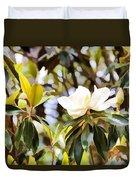 Florida Magnolia Duvet Cover