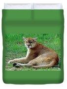 Florida Panther Duvet Cover