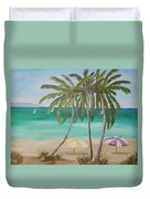 Florida Shade Duvet Cover