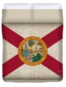 Florida State Flag Duvet Cover