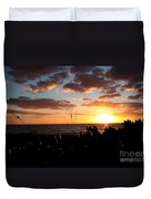Florida Sunset Duvet Cover