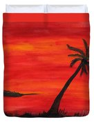 Florida Sunset II Duvet Cover