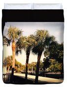 Florida Trees 2 Duvet Cover