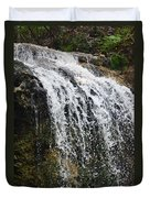 Florida Waterfall Duvet Cover