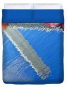 Floridian Abstract Duvet Cover