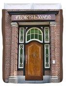 Florishaven Doorway Duvet Cover