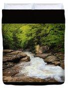 Flow Of Forest Zen Duvet Cover