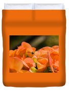 Flower And Ready To Fly Duvet Cover