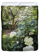 Flower And Tree At Msu Duvet Cover