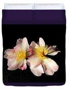 Flower Azalea. Duvet Cover