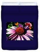 Flower Bed Close Up Duvet Cover