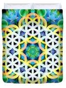 Flower Bubbles Duvet Cover
