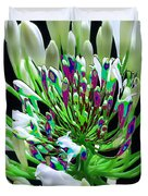 Flower Bunch Bush Sensual Exotic Valentine's Day Gifts Duvet Cover