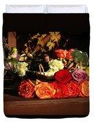 Flower Cart Duvet Cover