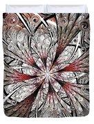 Flower Carving Duvet Cover
