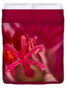 Flower Close Up II Duvet Cover