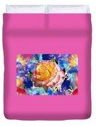 Flower Dance 2 Duvet Cover