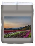Flower Fields 2 Cropped Into A Standard Ratio Duvet Cover