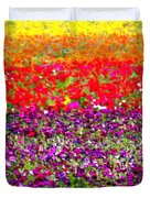 Flower Fields Duvet Cover